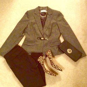 Calvin Klein fitted blazer NWOT